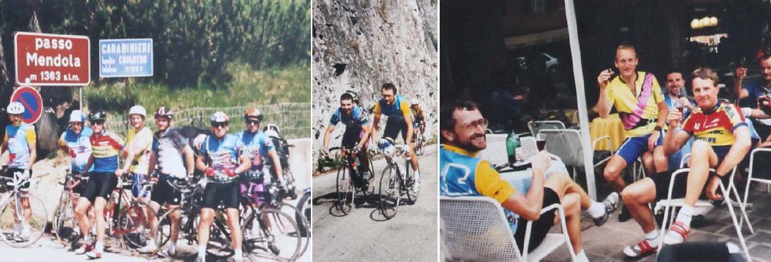 Hobbyradler Highlights: 1993: Ried – Riva sul Garda 600 km