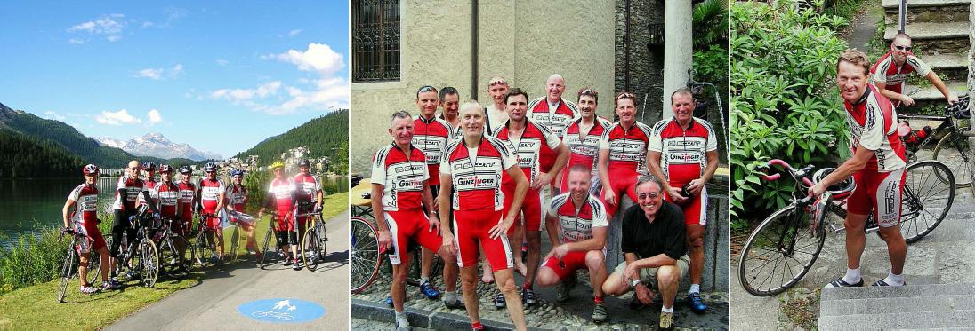 Hobbyradler Highlights: 2006: Ried – Lago maggiore 650 km