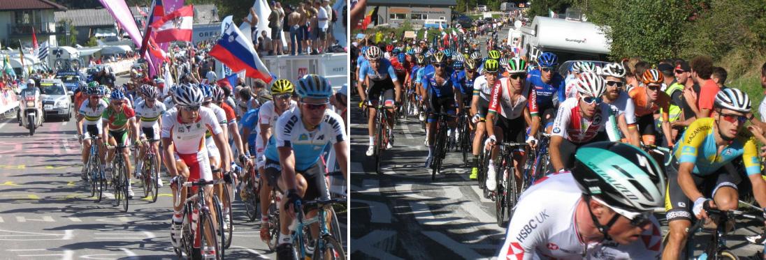Hobbyradler Highlights: Besuche Radweltmeisterschaften, Salzburg 2006, Innsbruck 2018