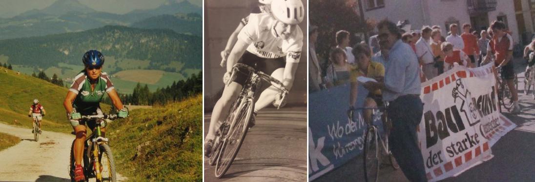 IRMA GROSSMANN und Petra Sinzinger - erfolgreiche Berg- und Strassenrennfahrerinnen
