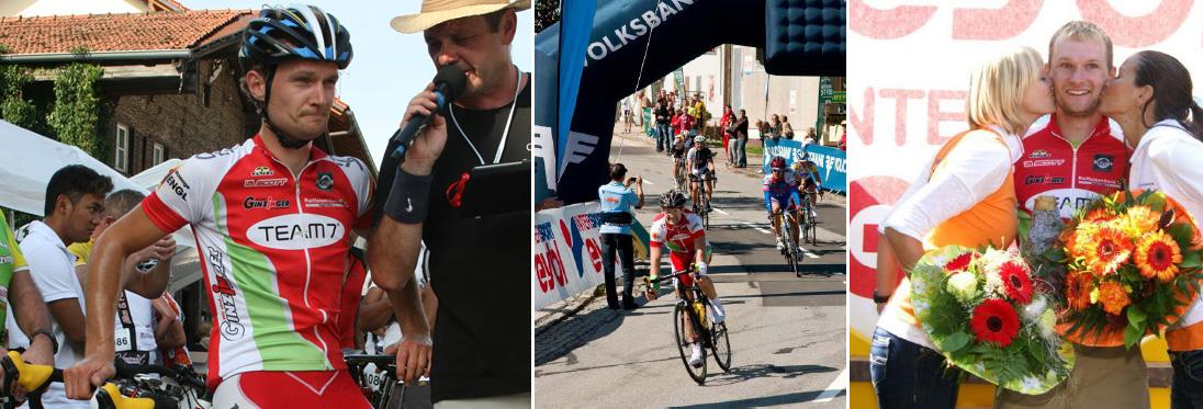 Franz Buchner - Sieger Sauwaldman, Vizestaatsmeister Radmarathon, Sieger 6h Radmarathon Weltmeisterschaft Malching